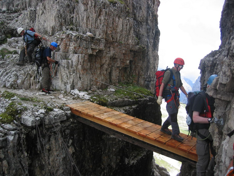 Klettersteig Dolomiten : Bergwandern hüttentour dolomiten sextener